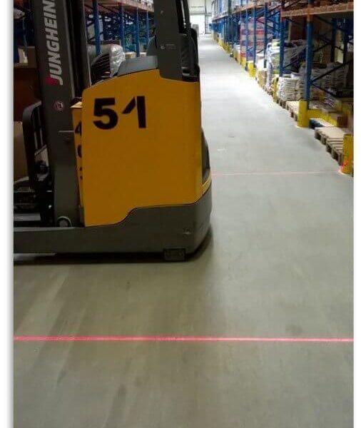 Jungheinrich-czerwona-strefa-bezpieczenstwa-laser
