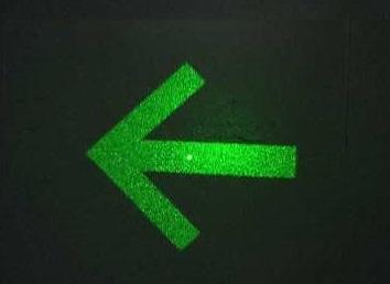 zielona-lampa-strzałka